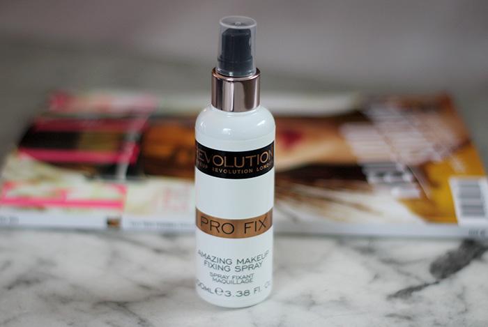 Makeup Revolution setting spray