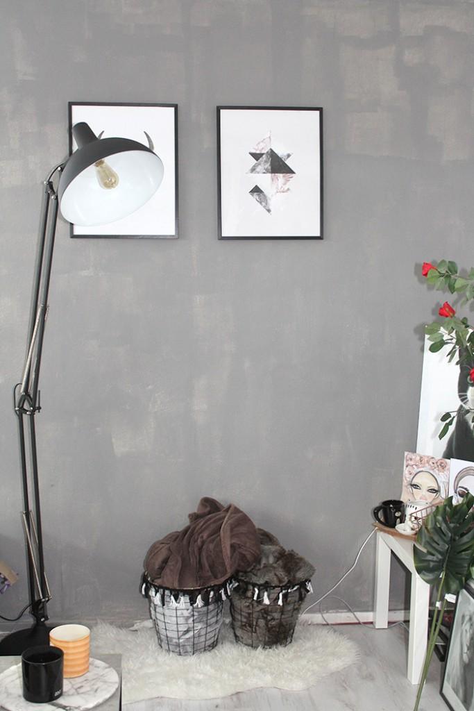 fotos van mijn zithoek industriele lamp