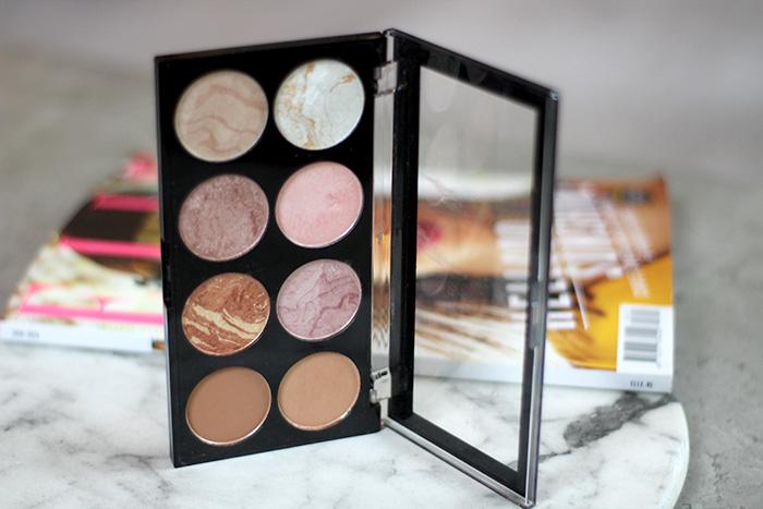 makeup revolution goldan sugar blush palette