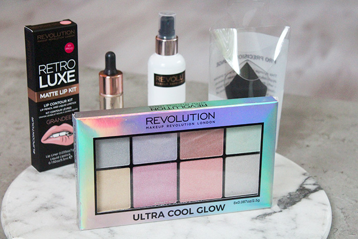 makeup revolution ultra cool glow palette