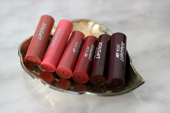 action kiss my perfect rosy lips lipsticks