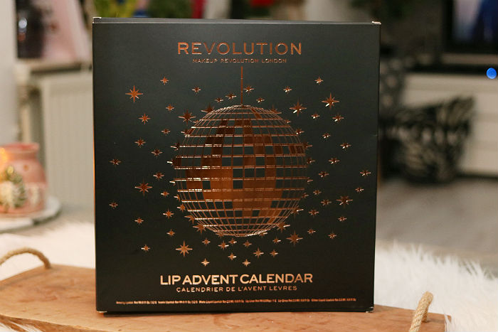 Makeup Revolution Lip Advent Calendar (de inhoud!)