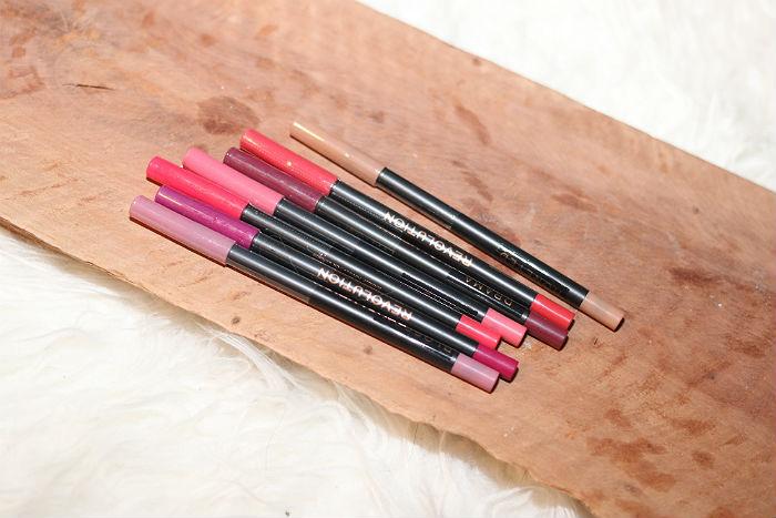 makeup revolution lip pencil advent calendar