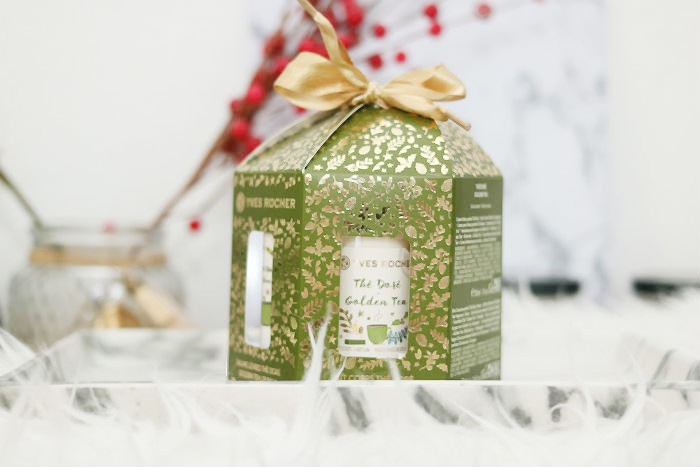 WIN: Yves Rocher Golden Tea kerst carrousel