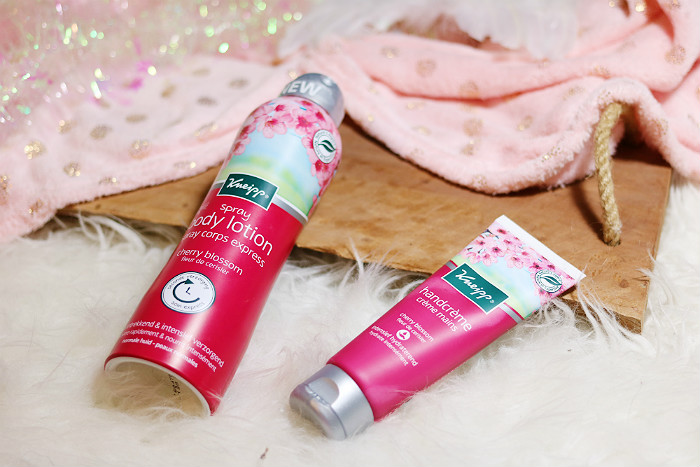 Kneipp Cherry Blossom handcrème en spray body lotion review