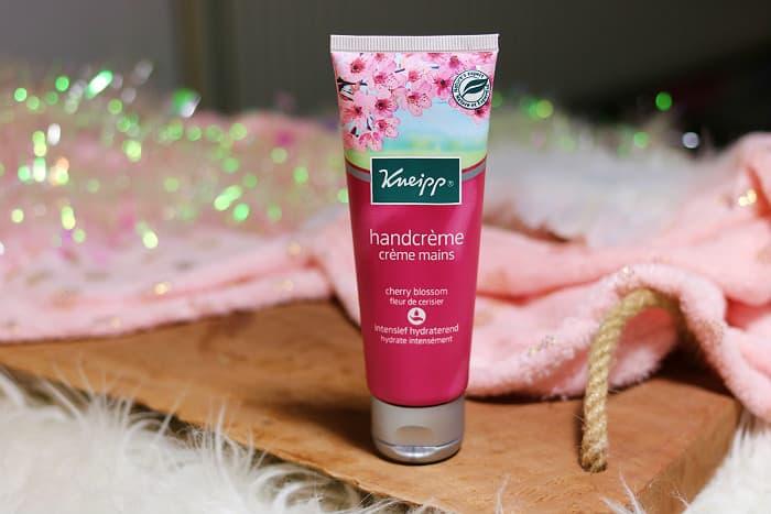 kneipp cherry blossom handcreme