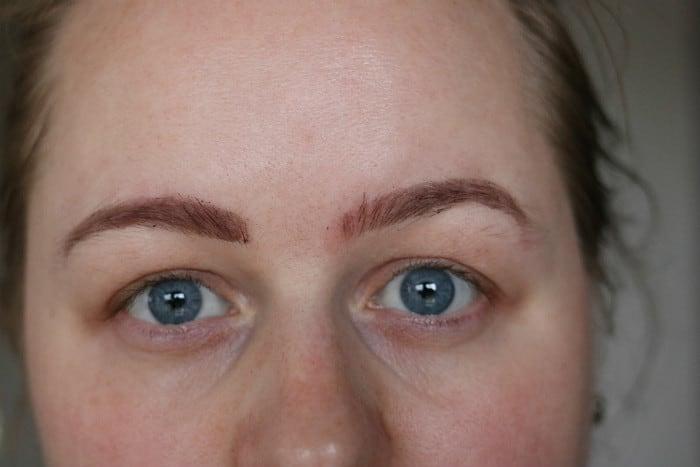 makeup revolution brow tint taupe af