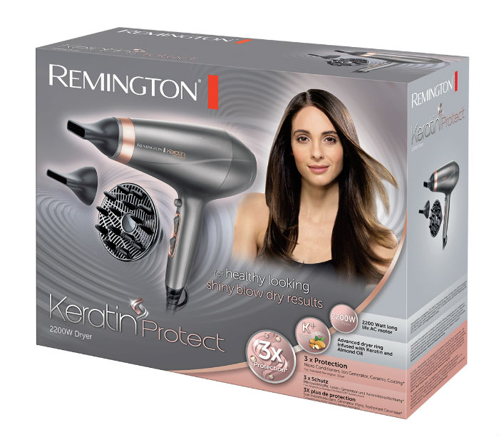 remington keratin protect collection fohn