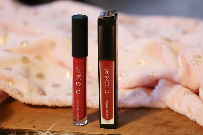 sigma venom liquid lipstick review