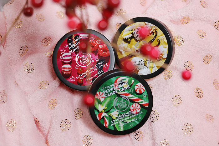 The Body Shop body butter trio Christmas gift