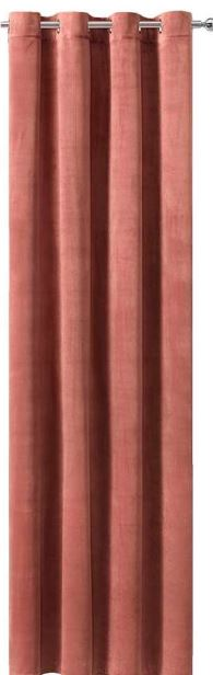 roze velvet gordijnen