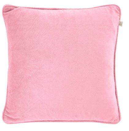 velvet pink kussen