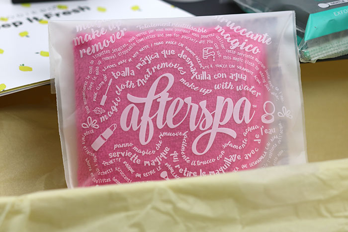afterspa magic makeup remover