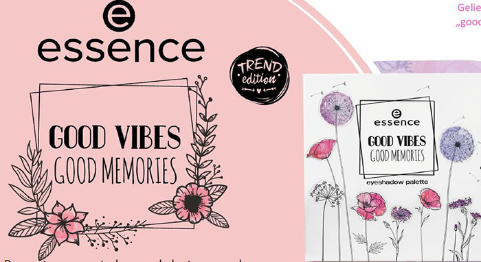 essence good vibes good memories limited edition