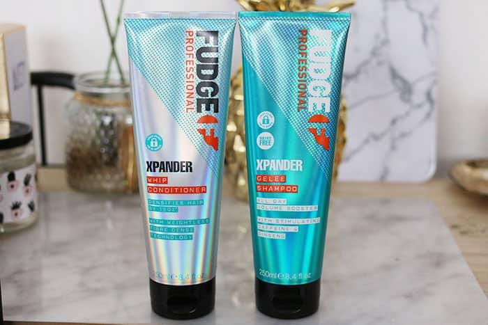 rood geverfd haar verzorgen fudge xpander gelee shampoo conditioner