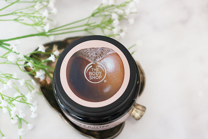 the body shop shea butter hair mask closed