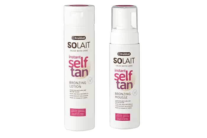 Solait Self Tan Instant Bronzing Lotion en mousse kruidvat