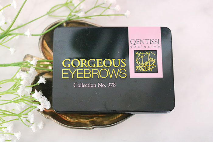 Action Gorgeous Eyebrows palette van Qentissi exclusive