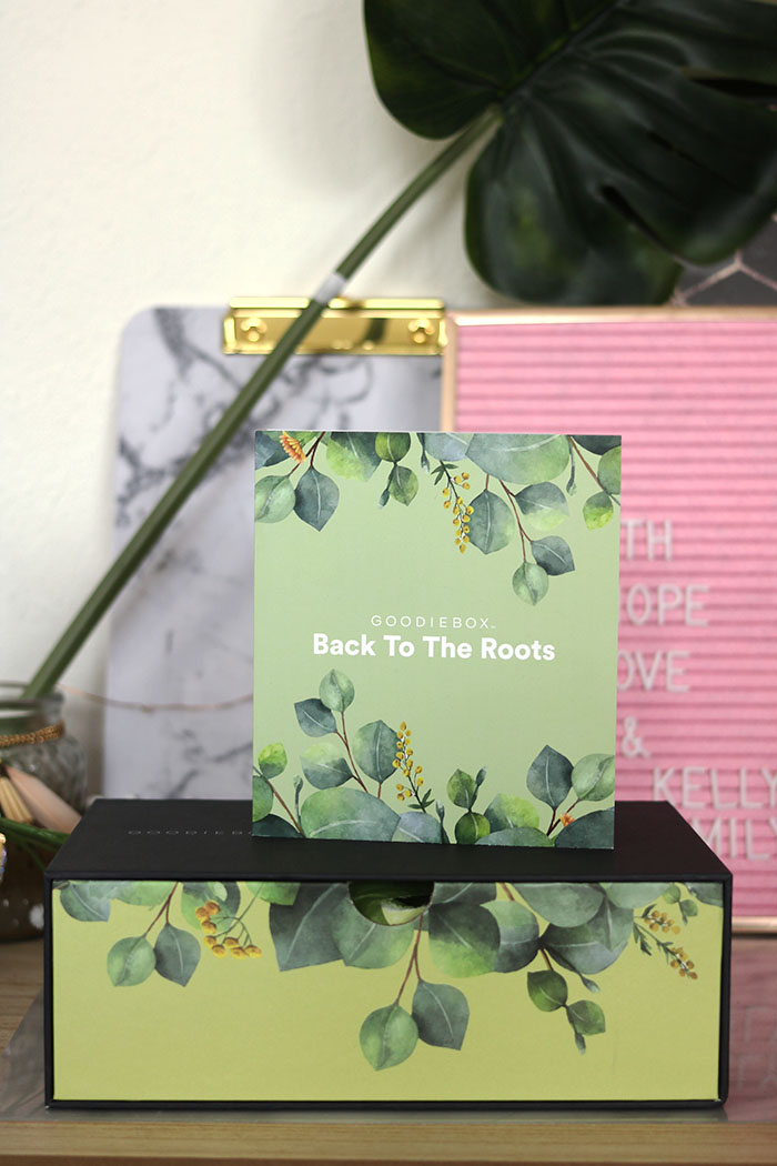 goodiebox maart 2019 back to the roots pinterest