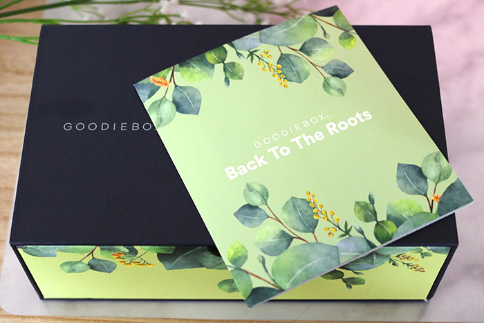 goodiebox maart 2019 back to the roots
