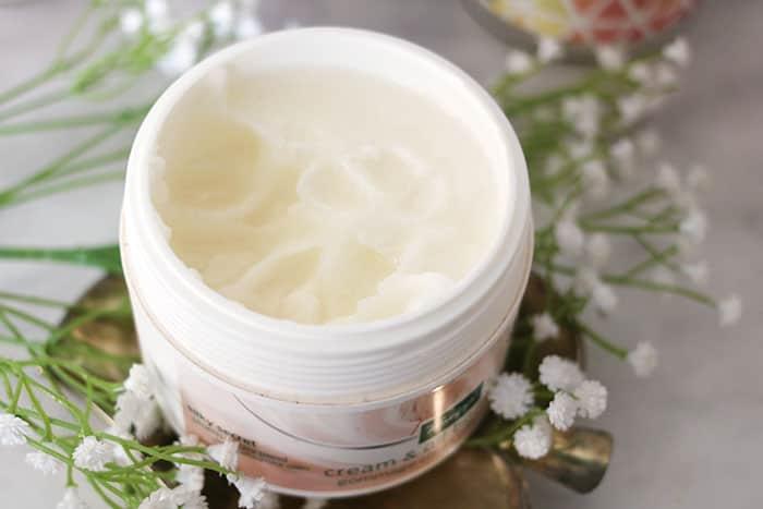 kneipp cream & oil body scrub scrub