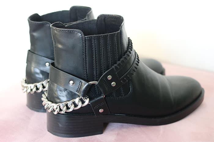 zwarte laarzen pull&bear zalando