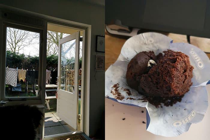 8 april 2019 oreo muffin