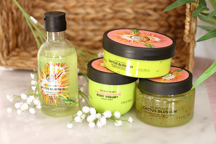 The Body Shop Cactus Blossom lijn review