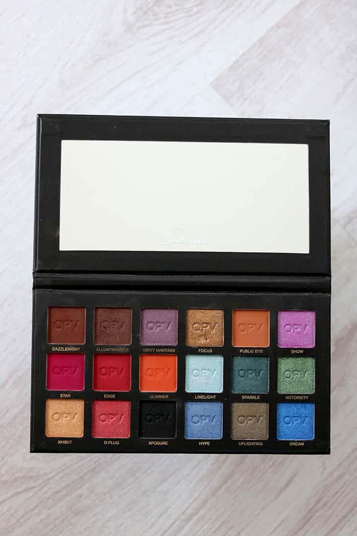 opvbeauty spotlight eyeshadow palette