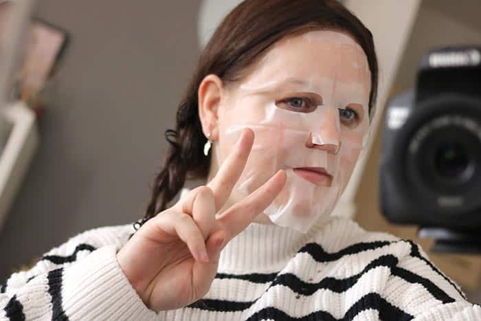 body shop aloe calm sheet mask