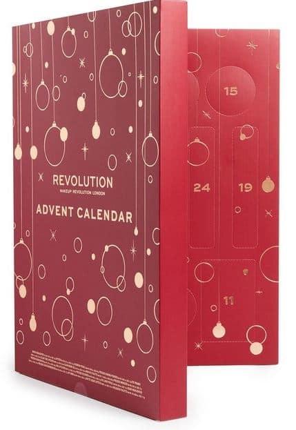 makeup revolution adventskalender