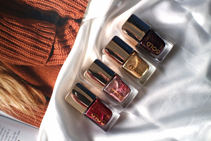catrice gold collection nagellak swatches