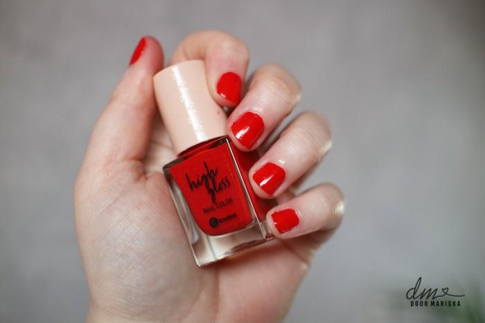 kruidvat nagellak red fury