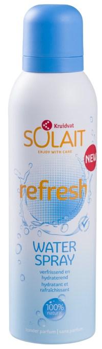 kruidvat solait water spray refresh