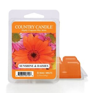country candle sunshine daisies