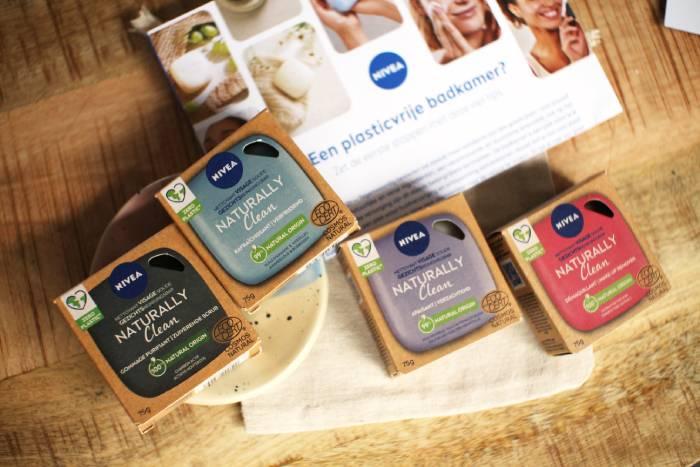 Nivea reinigingsbars voor het gezicht, naturally clean & plasticvrij!
